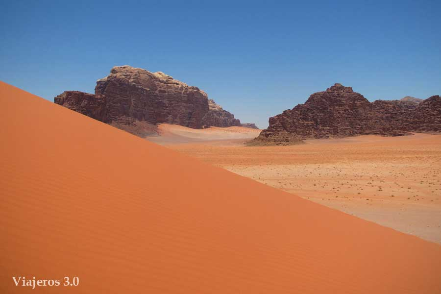 Desierto de Wadi Rum - paisajes más impresionantes del mundo