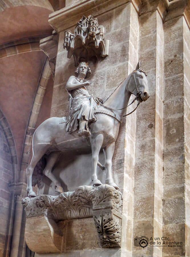 El jinete de Bamberg