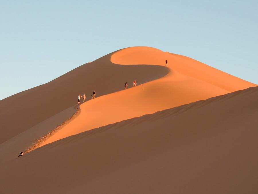 Desierto Erg Chebbi- paisajes más impresionantes del mundo