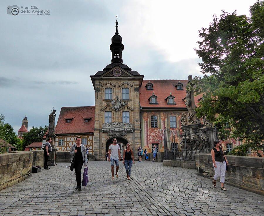 Puente del Antiguo Ayuntamiento de Bamberg