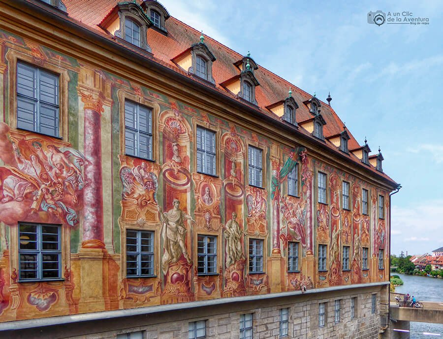 Frescos del Antiguo Ayuntamiento de Bamberg
