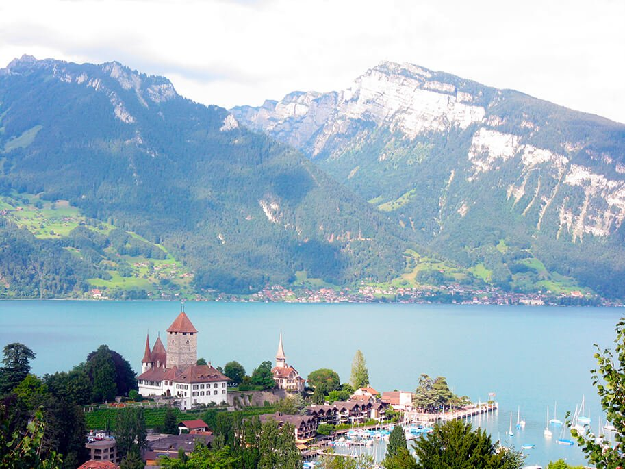 Lago Lemán - los paisajes más impresionantes de Europa