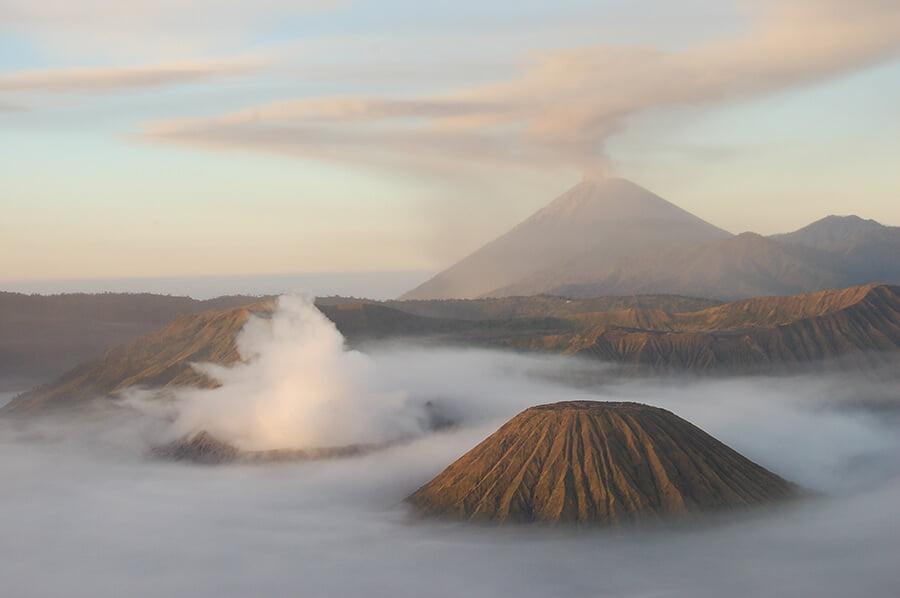 Monte Bromo - paisajes más impresionantes del mundo