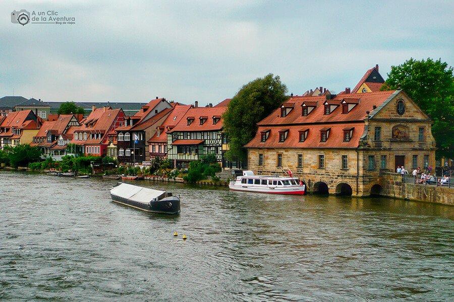 Pequeña Venecia en Bamberg