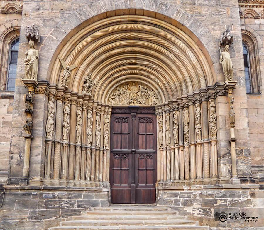 Portada de los Príncipes de la Catedral de Bamberg