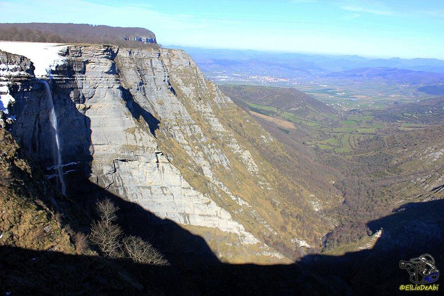 Salto del Nervión - los paisajes más impresionantes de Europa