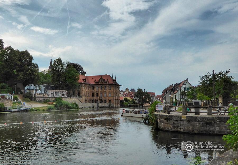 Villa Concordia a orillas del río Regnitz