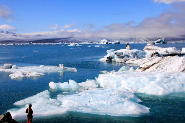 Laguna de Jokulsarlón - los paisajes más impresionantes de Europa