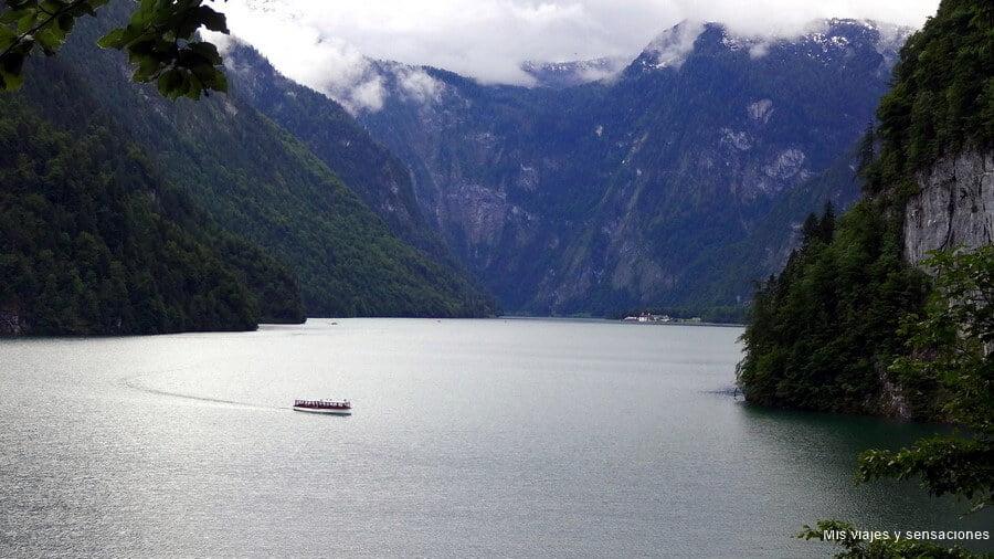 Vistas desde el Mirador del Lago Kögnissee - los paisajes más impresionantes de Europa
