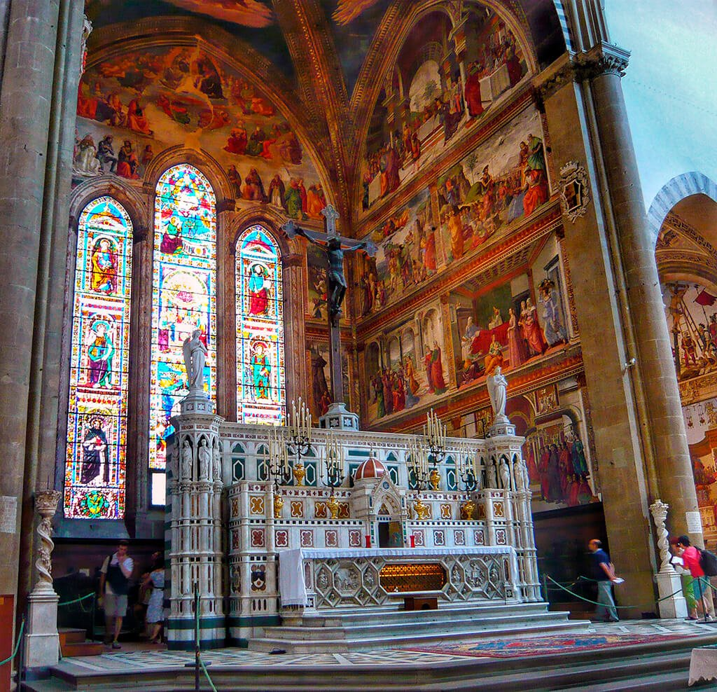 Capilla Mayor de la iglesia de Santa María Novella