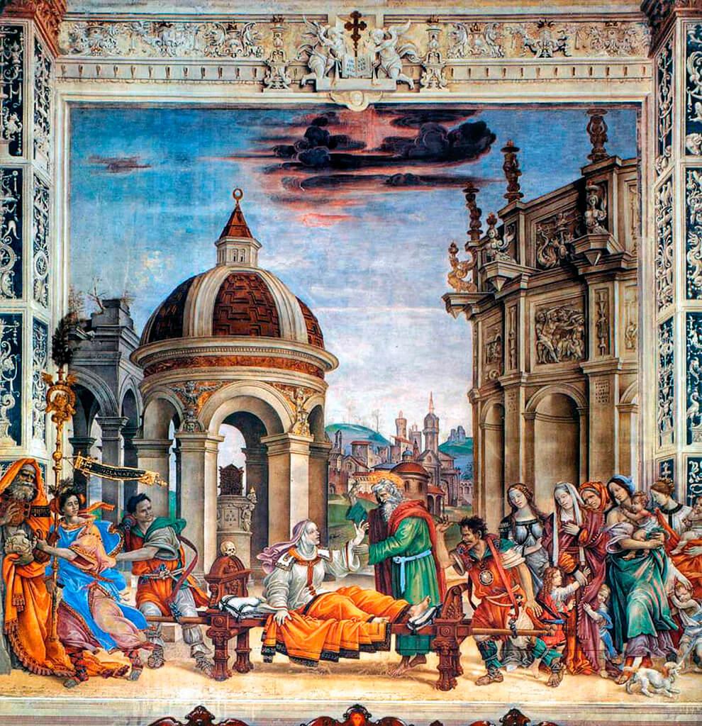 Fresco de la Capilla Strozzi