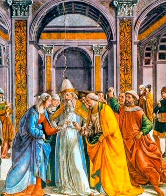 Fresco de la Capilla Tornabuoni