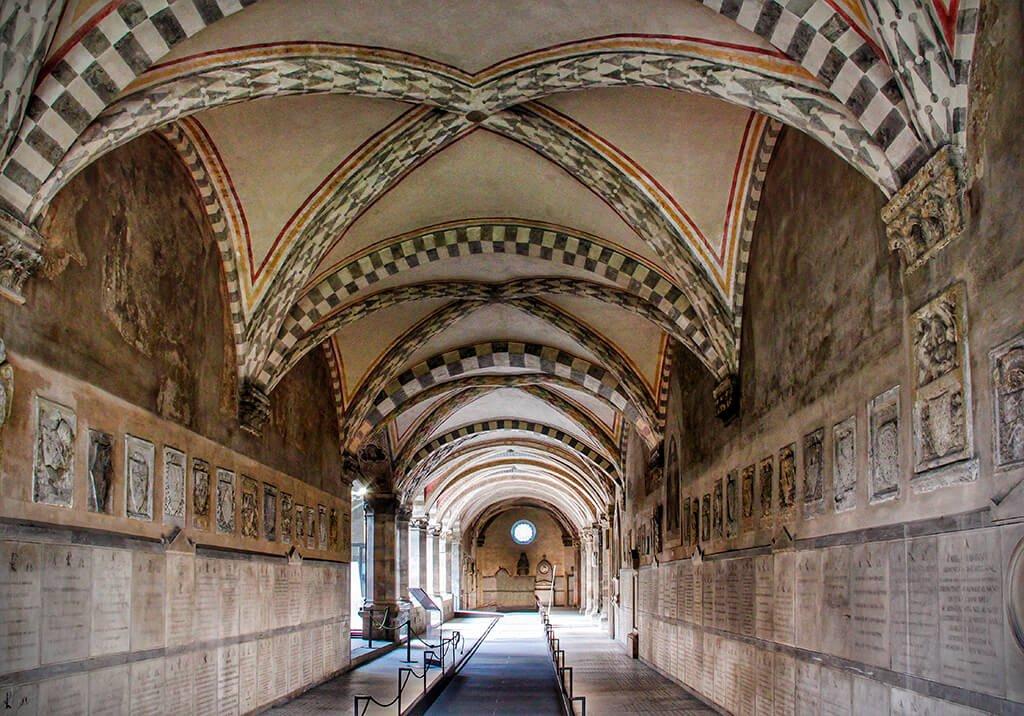 Claustro de los Muertos de la iglesia de Santa María Novella