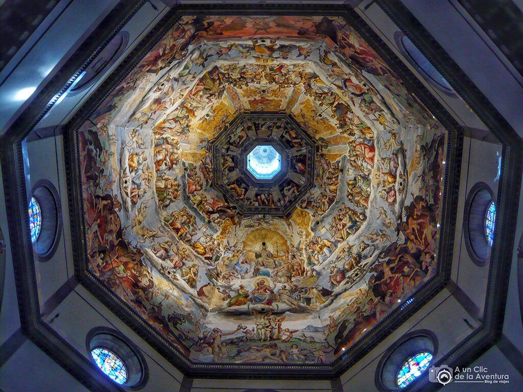Interior de la Cúpula de Brunelleschi - visitar Florencia