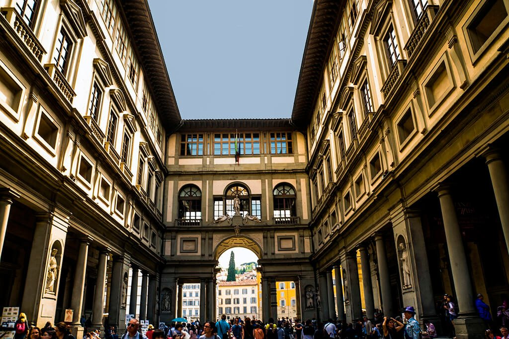 Galleria degli Uffizi - visitar Florencia