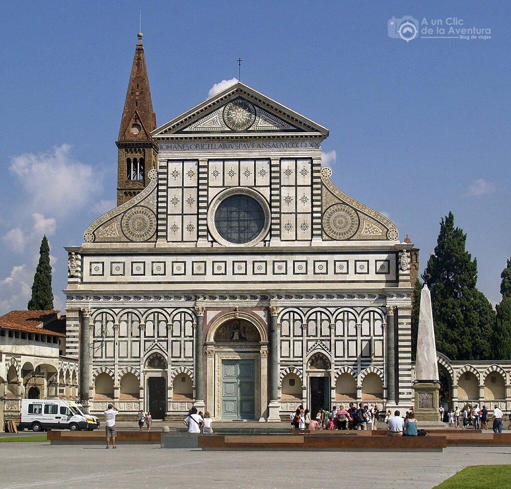Iglesia de Santa María Novella - visitar Florencia