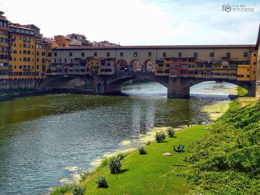 Ponte Vecchio - visitar Florencia