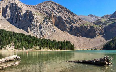 El Ibón de Plan o Basa La Mora, un lago legendario