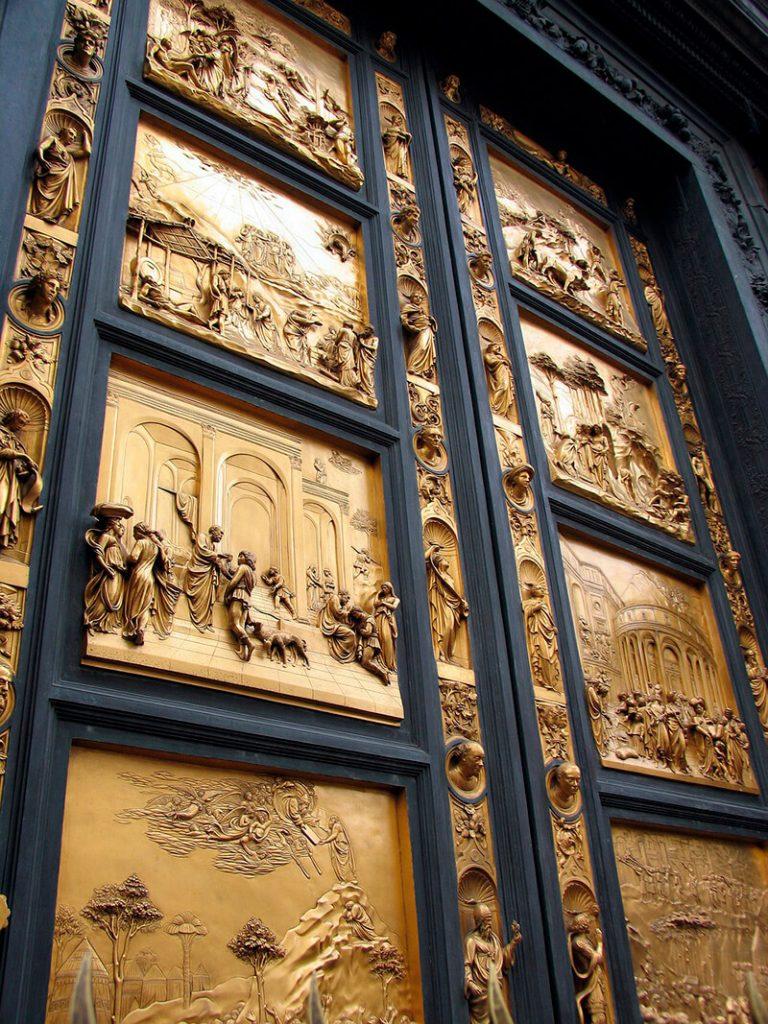 La Puerta del Paraíso del Baptisterio de San Giovanni - visitar Florencia