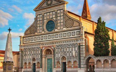 La iglesia de Santa María Novella y la farmacia más antigua del mundo, en Florencia