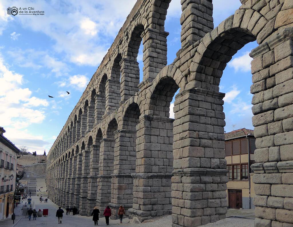 Acueducto de Segovia - monumentos más visitados de España