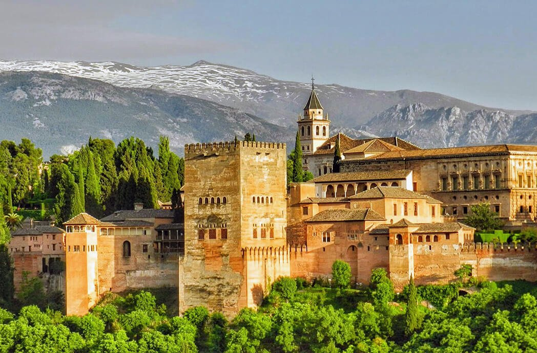 Alhambra de Granada - monumentos más visitados de España