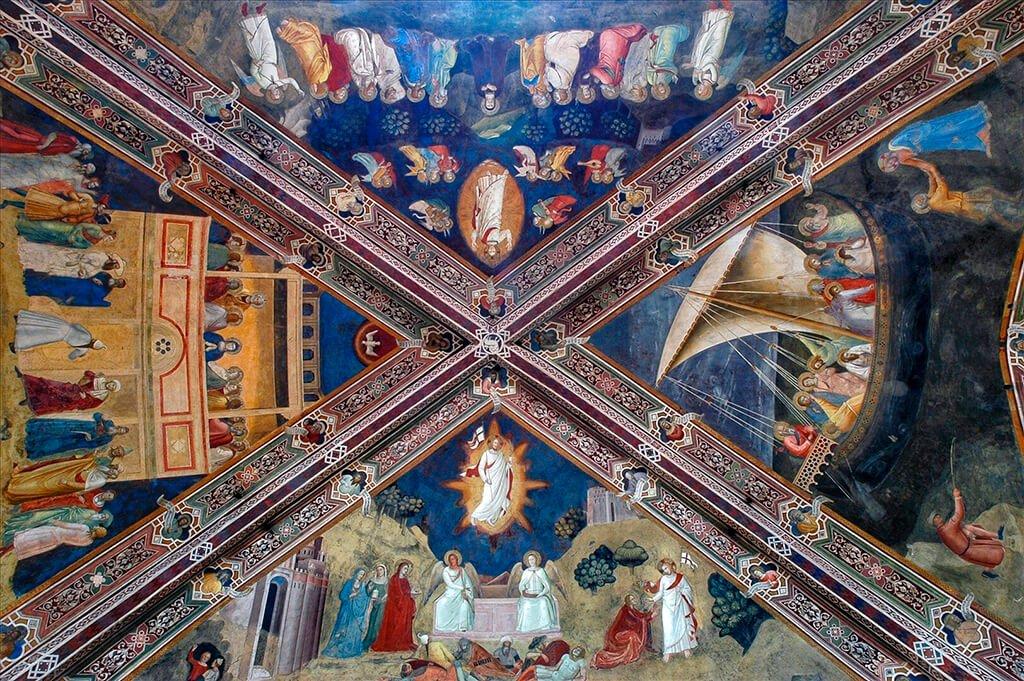 Capilla de los españoles de la iglesia de Santa María Novella