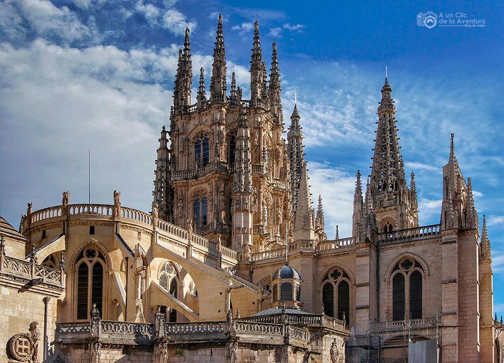 Catedral de Burgos - monumentos más visitados de España