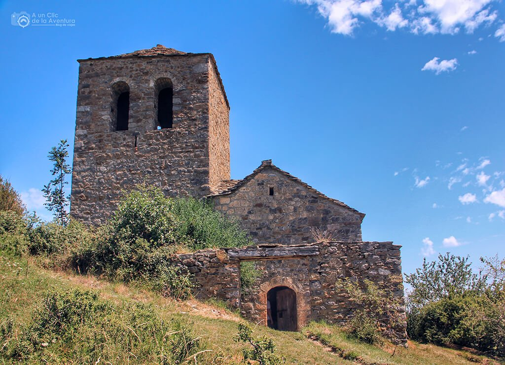 Ermita de la Virgen de las Fajanillas de Tella - ruta de las ermitas de Tella