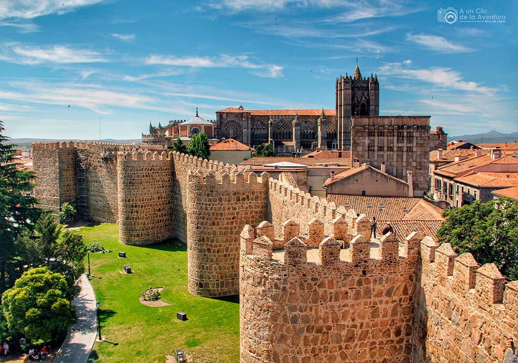 Murallas de Ávila - monumentos más visitados de España