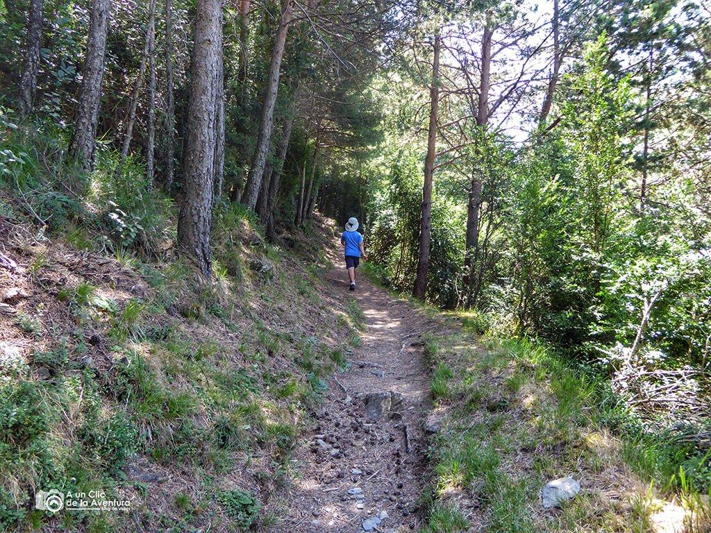 Sendero de las tres ermitas de Tella - ruta de las ermitas de Tella