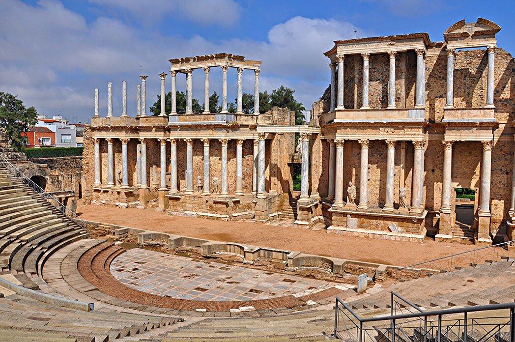 Teatro romano de Mérida - monumentos más visitados de España
