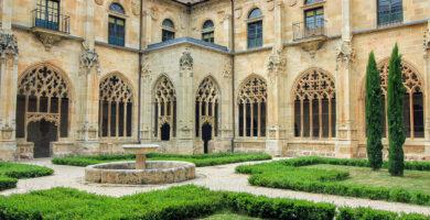 Claustro del Monasterio de San Salvador de Oña