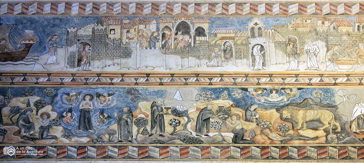 Fresco de Santa Maria Egipcíaca