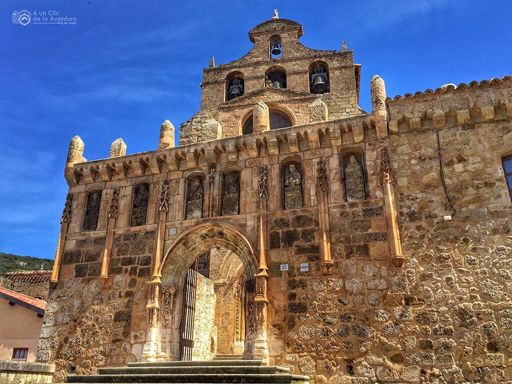 Portada de la Iglesia del Monasterio de San Salvador de Oña