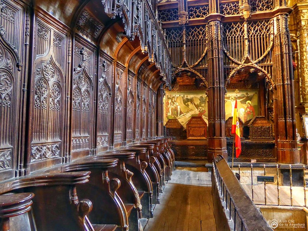 Sillería y Panteón Real de la Iglesia del Monasterio de San Salvador de Oña