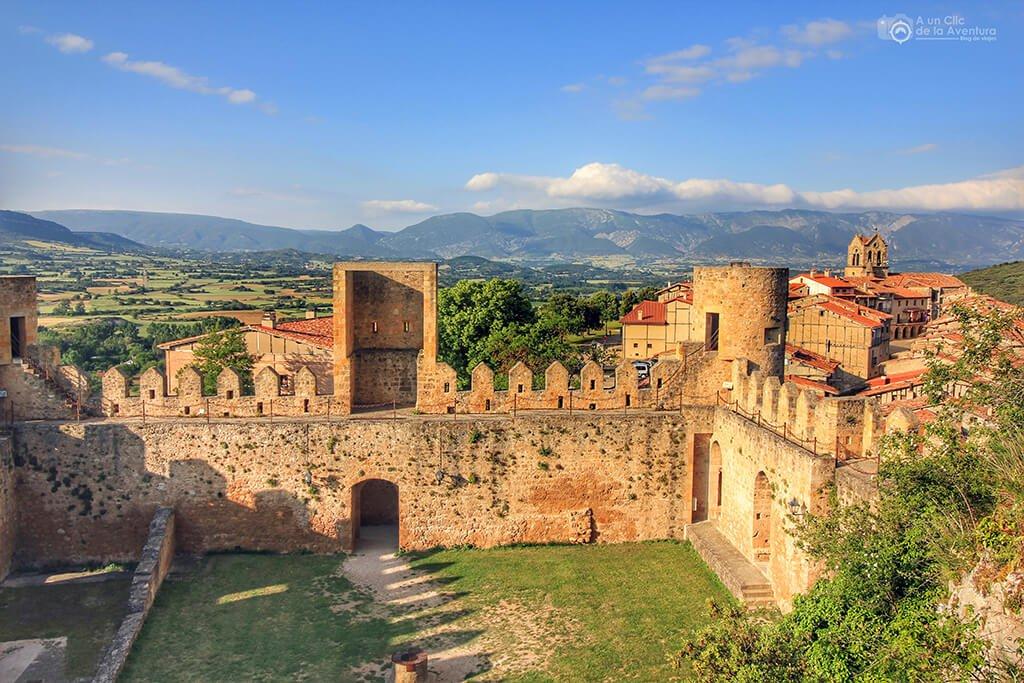 Vistas desde la Torre del Homenaje del Castillo de Frías