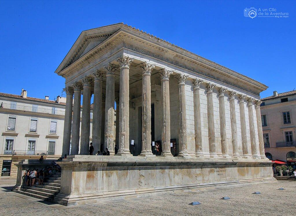 Maison Le Carrée en Nîmes - viaje en coche a Venecia y norte de Italia