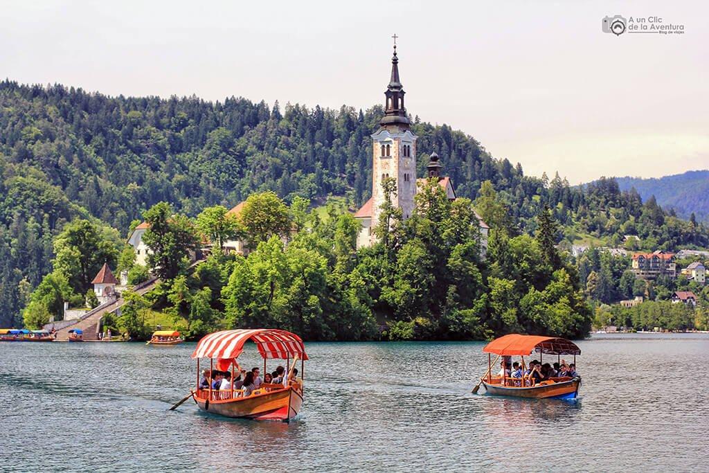 Lago e isla de Bled - viaje en coche a Eslovenia