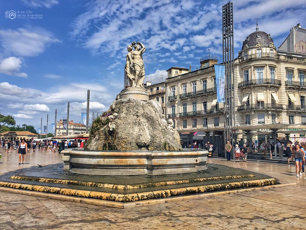 Place de la Comédie en Montpellier