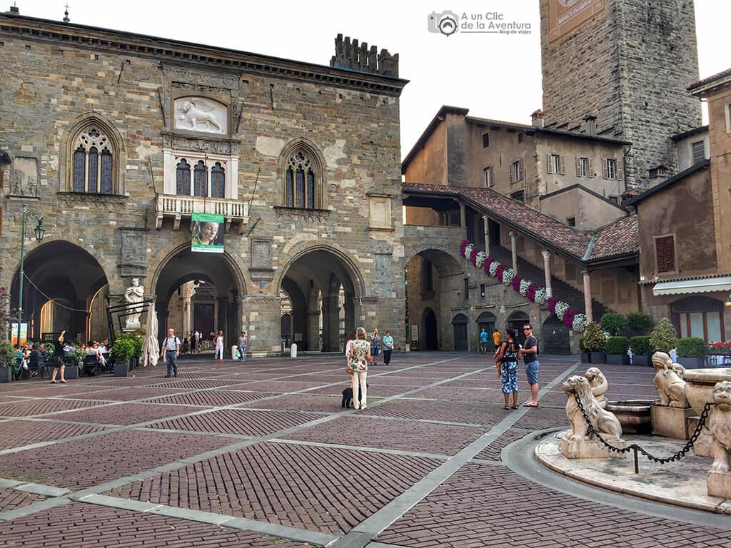 Piazza Vecchia de Bérgamo