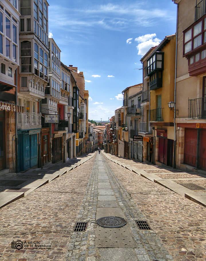 Calle de Balborraz - que ver en Zamora