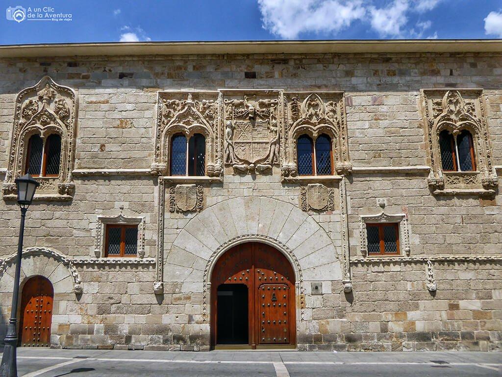 Casa de los Momos - que ver en Zamora