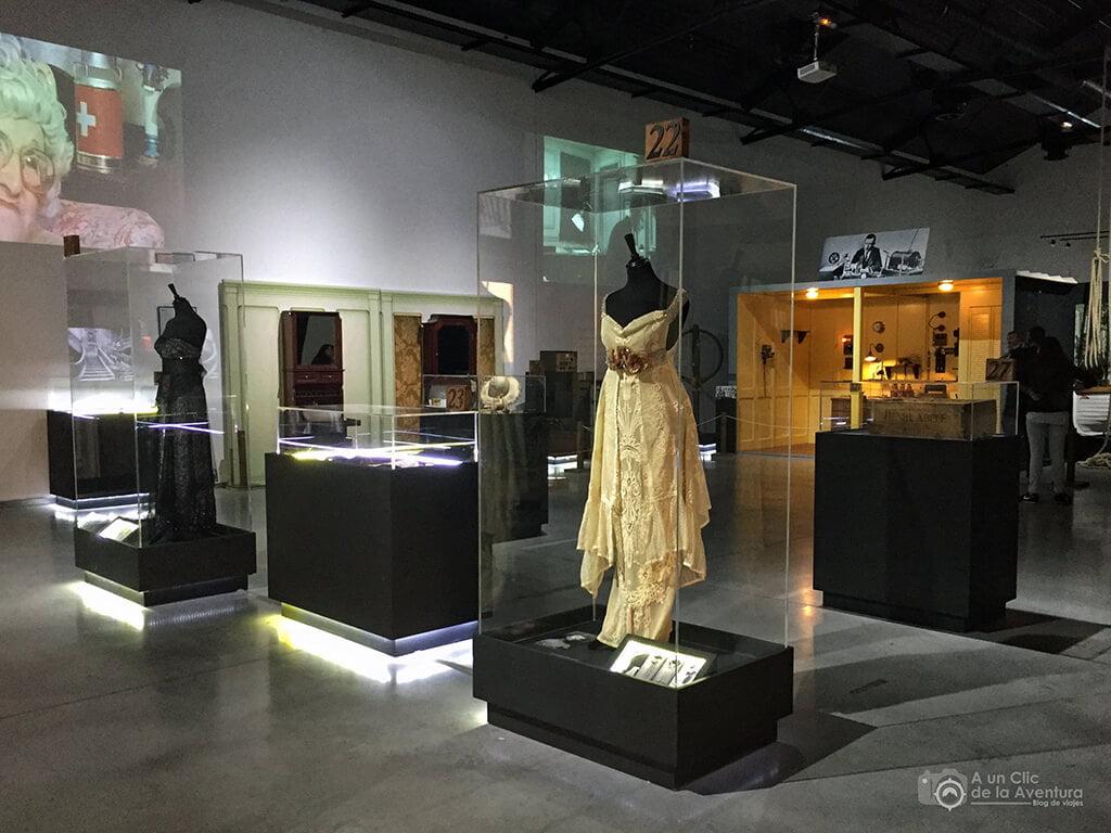 Vestidos de algunas de las damas del Titanic -Exposición Titanic The Reconstruction