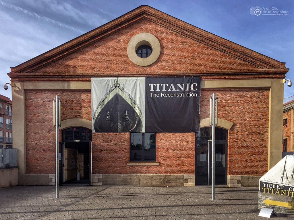 El Palacín, edificio en el que se ubicó la exposición Titanic The Reconstruction