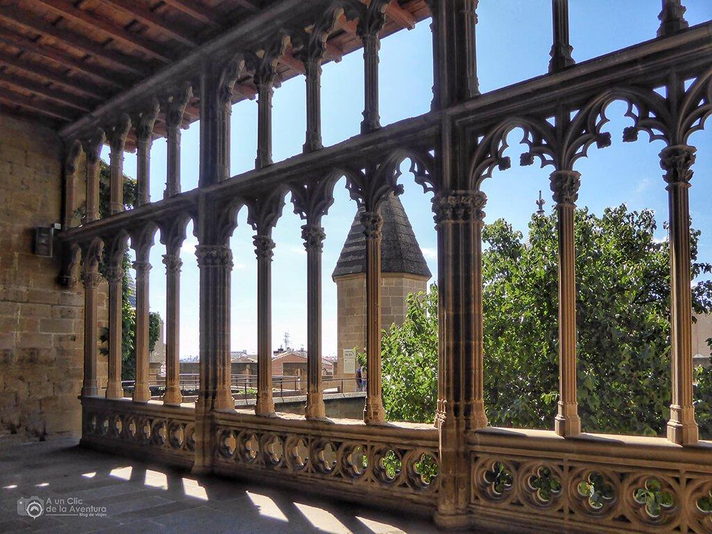 Galería del Rey del Castillo de Olite