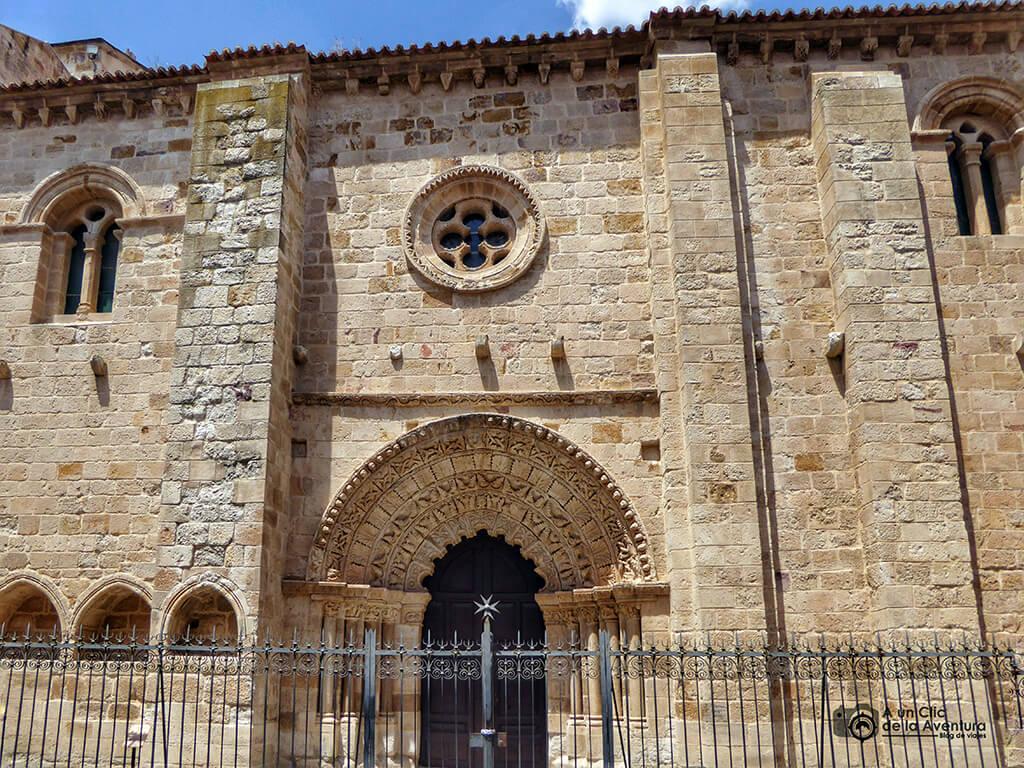 Portada de la Iglesia de Santa María Magdalena - que ver en Zamora