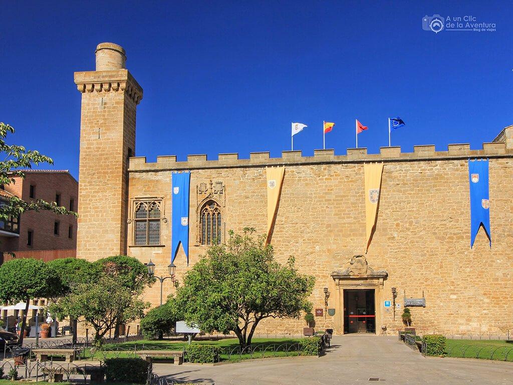 Palacio Viejo de Olite (hoy Parador de Turismo)