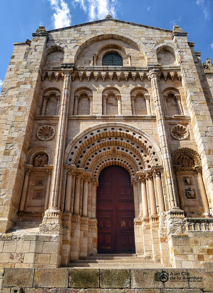 Portada Meridional o del Obispo de la Catedral de Zamora - que ver en Zamora