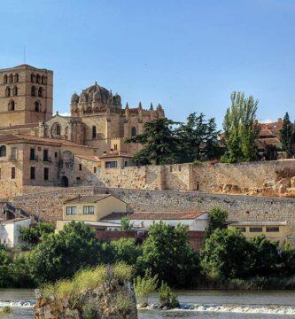 Vista panorámica de Zamora